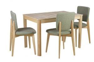 Обеденная группа Стол Фуджи 2 и стул Сантьяго - Мебельная фабрика «КЛМ-мебель»