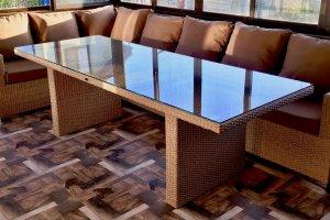 Стол из искусственного ротанга 03 109 - Мебельная фабрика «АртРотанг»