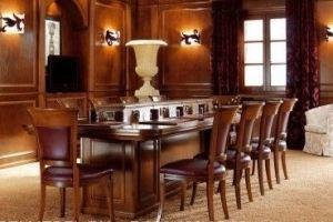 Стол из массива 1496 - Мебельная фабрика «ЛюксБелМебель»