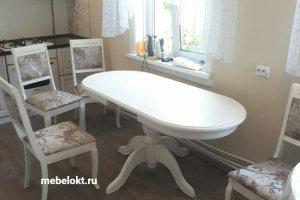 Стол из массива - Мебельная фабрика «Авангард»