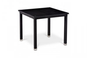 Стол из ротанга T246ST-90x90 Black - Мебельная фабрика «Афина-Мебель»