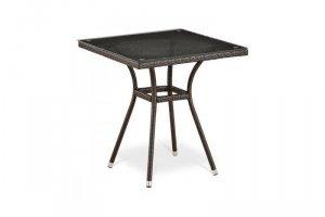 Стол из ротанга T282BNT-W51-70x70 Brown - Мебельная фабрика «Афина-Мебель»