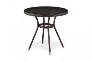 Стол из ротанга T283ANT-W51-D80 Brown - Мебельная фабрика «Афина-Мебель»