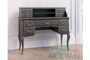 Стол кабинетный с навершием 702BL 703BL - Мебельная фабрика «ALETAN wood»
