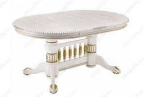 Стол Кантри молочный 296156 - Импортёр мебели «Woodville»