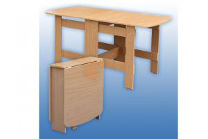 Кухонный стол-книжка 1 - Мебельная фабрика «Керулен»