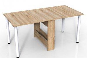 Стол-книжка с металлическими ножками - Мебельная фабрика «Алтай-Командор»