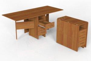 Стол книжка с ящиками - Мебельная фабрика «Алтай-Командор»