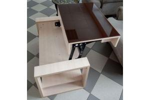 Стол трансформер Кофейный - Мебельная фабрика «Астера (ТМФ)»