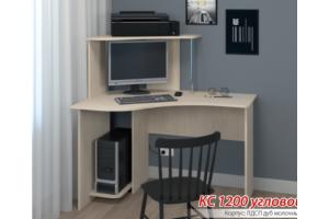 Стол компьютерный КС 1200 угловой - Мебельная фабрика «Бонмебель»