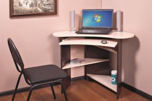Стол компьютерный КС 800 угловой - Мебельная фабрика «Бонмебель»