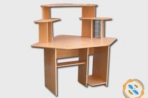 Стол компьютерный КС Радиан - Мебельная фабрика «МЕБЕЛов»
