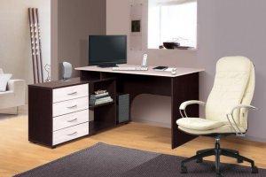 Стол компьютерный Мэдисон 1 МК 101.08 - Мебельная фабрика «Мебель-класс»