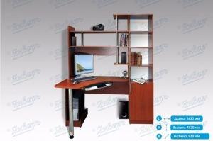 Стол компьютерный МК10 - Мебельная фабрика «Январь»