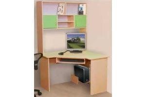Стол компьютерный с надставкой - Мебельная фабрика «Мебель Прогресс»