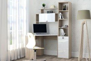 Стол компьютерный с пеналом 11 - Мебельная фабрика «Зарон»