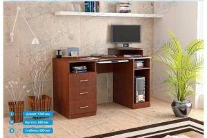 Стол компьютерный СК-1 - Мебельная фабрика «Январь»
