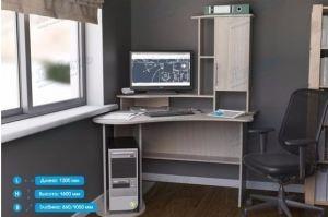 Стол компьютерный СК-18 - Мебельная фабрика «Январь»