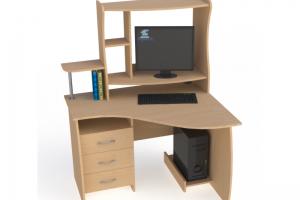 Стол компьютерный СК 2 - Мебельная фабрика «Карат-Е»
