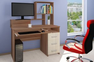 Стол компьютерный СК-2031 - Мебельная фабрика «Трио мебель»