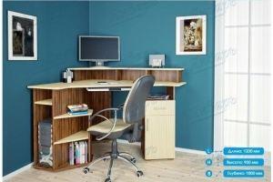 Стол компьютерный СК-6 - Мебельная фабрика «Январь»