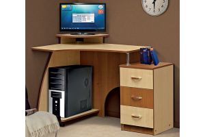 Стол компьютерный СК 7 - Мебельная фабрика «СКИФ»