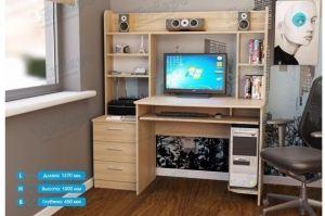 Стол компьютерный СК-7 - Мебельная фабрика «Январь»
