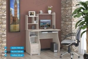 Стол компьютерный СК-9 - Мебельная фабрика «Январь»
