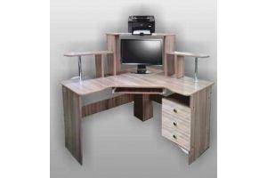 Стол компьютерный СКВ-14 - Мебельная фабрика «SPSМебель»