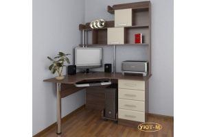 Стол компьютерный угловой В-2 - Мебельная фабрика «Уют-М»