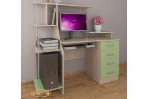 Стол компьютерный В-3 - Мебельная фабрика «Уют-М»