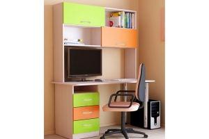 Стол письменный в детскую СП2Н1 - Мебельная фабрика «ВикО Мебель»