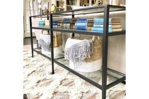 Стол-консоль в стиле Loft - Мебельная фабрика «LOFT»