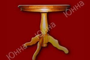 Стол круглый из массива ясеня - Мебельная фабрика «ЮННА»