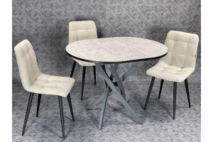 Стол круглый Винтаж со стульями Марк - Мебельная фабрика «Classen»