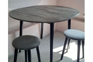 Стол круглый раздвижной Лофт - Мебельная фабрика «Сафина»