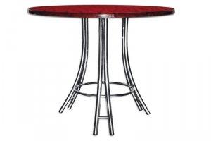 Стол круглый Салют - Мебельная фабрика «GlassArt»