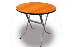 Стол круглый, складной 6-58, ривьера 6 - Мебельная фабрика «Мебель ОПТ 98»