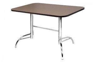 Стол кухонный 25 хром / крашенный металлокаркас - Мебельная фабрика «Мир Стульев»