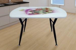 Стол кухонный с фотопечатью Ритм - Мебельная фабрика «ИЛ МЕБЕЛЬ»