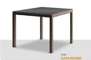 Стол квадратный Каталония - Мебельная фабрика «RAMMUS»