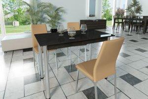 Стол ЛДСП на металлических опорах - Мебельная фабрика «Трио мебель»