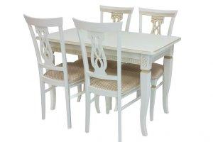 Стол Leset Дакота и стулья Leset Юта - Мебельная фабрика «Мебель Импэкс»