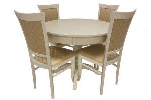 Стол Leset Мичиган и стулья Leset Монтана - Мебельная фабрика «Мебель Импэкс»