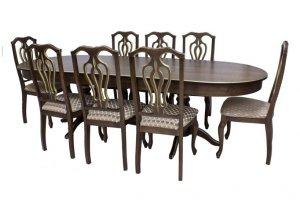 Стол Leset Вашингтон и стулья Leset Флорида - Мебельная фабрика «Мебель Импэкс»