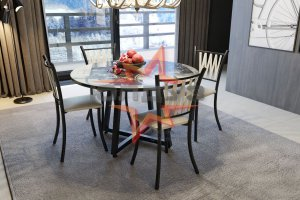 Стол Лофт Трапеция - Мебельная фабрика «Юлдуз»