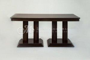 Стол массив сосны Теадор 4В - Мебельная фабрика «ШиковМебель»
