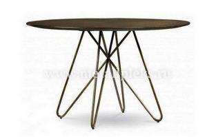 Стол MMA 2072 в стиле лофт - Мебельная фабрика «Металл Плекс»