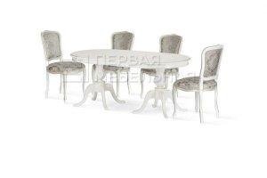 Стол Монтана, стул Дебора - Мебельная фабрика «Первая мебельная фабрика»
