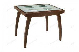 Стол Мурано со стеклянной столешницей - Мебельная фабрика «Лидер»